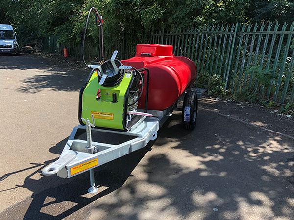 1125L Site Tow Water Bowser