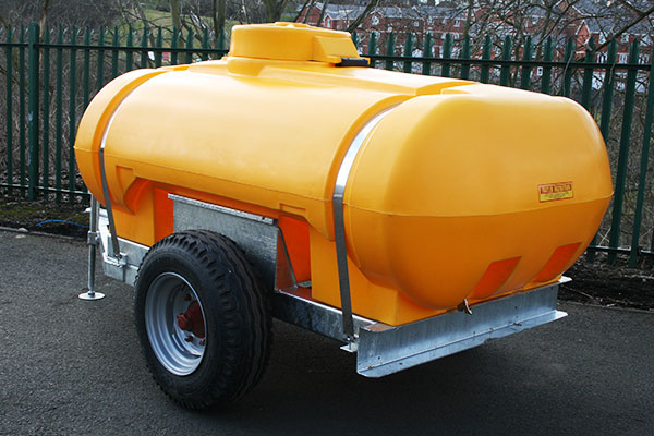 2250L Site Tow Water Bowser