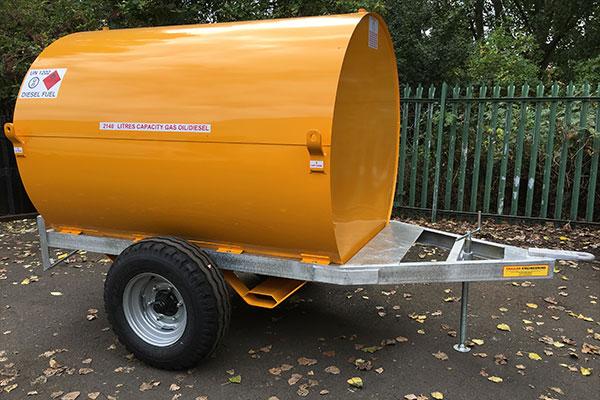 2140L Site Tow Diesel Bowser