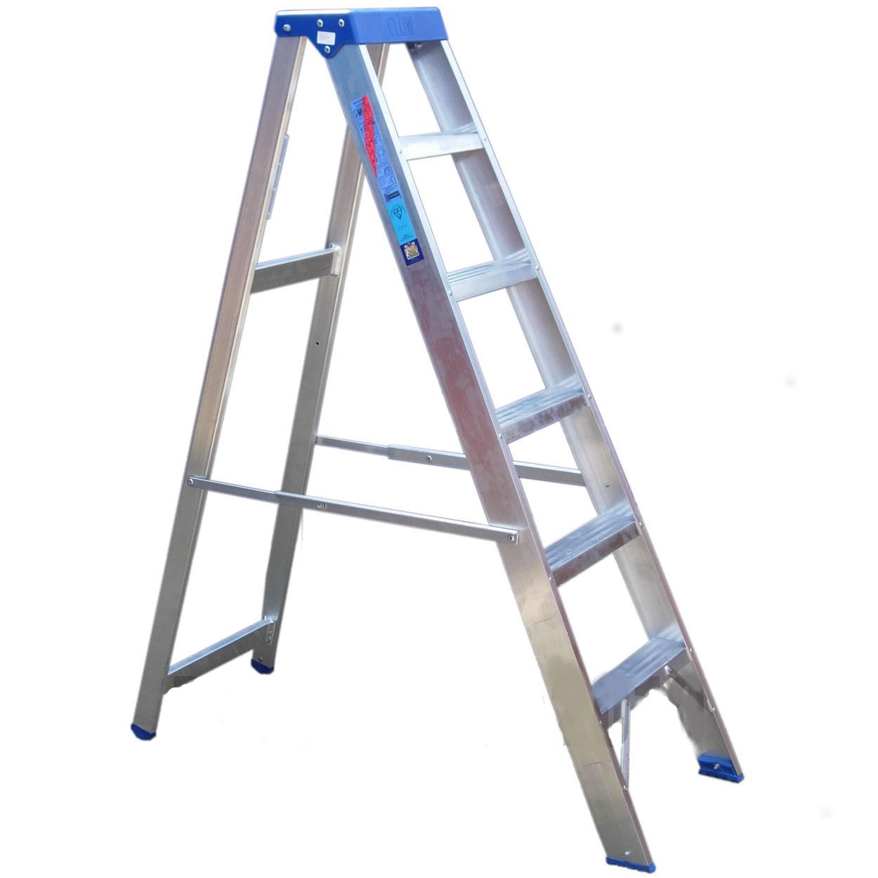 Aluminium Platform Steps 6 Tread