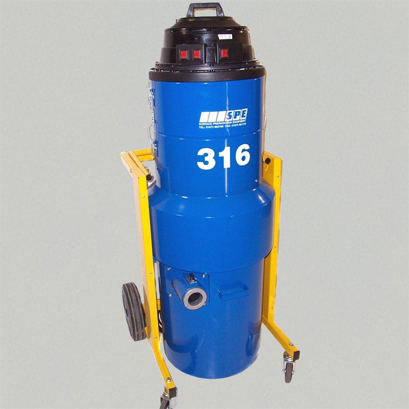 316 Dust Control Vacuum DPU 110V