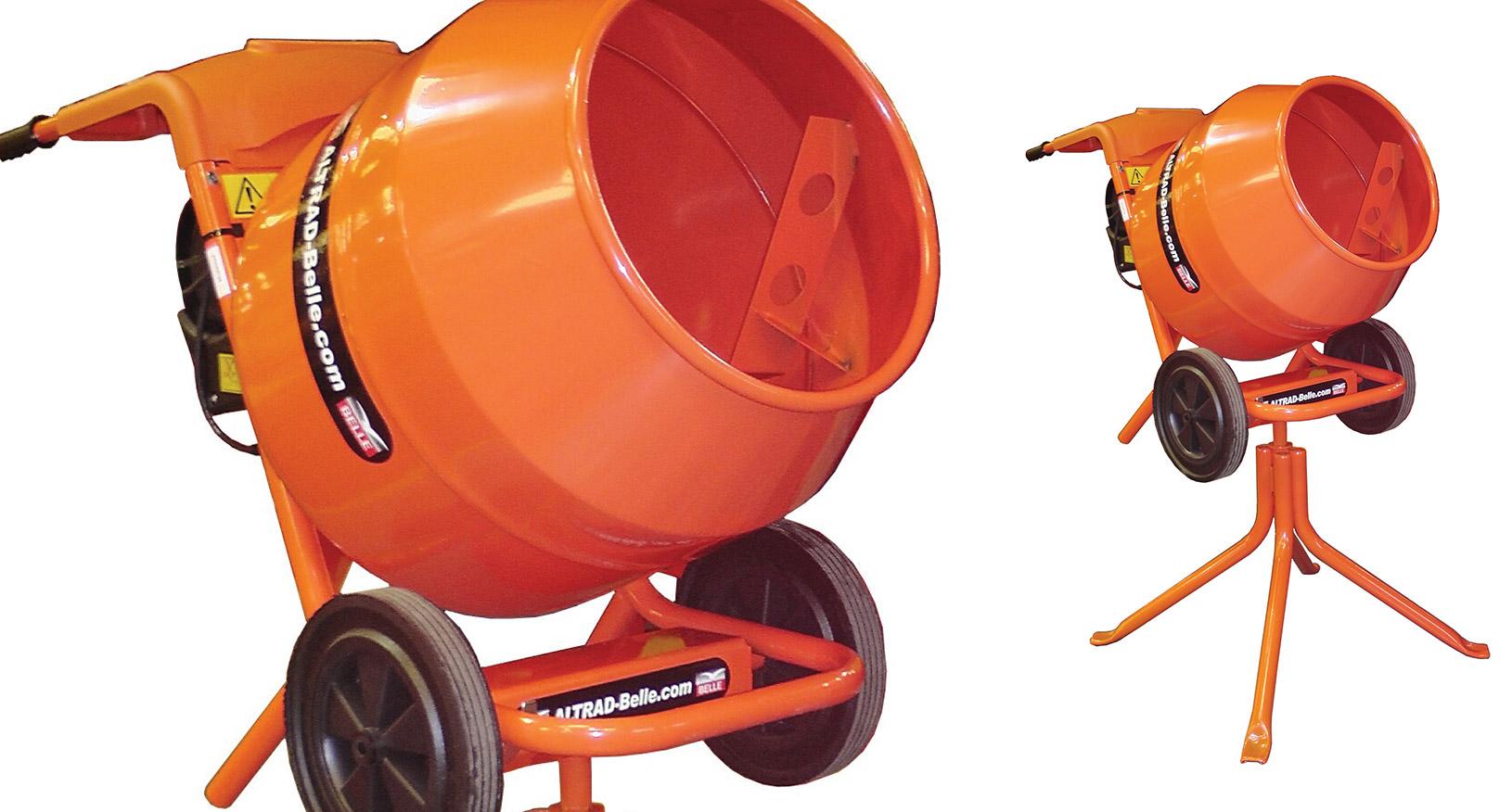 4/3 Cement Mixer - Petrol