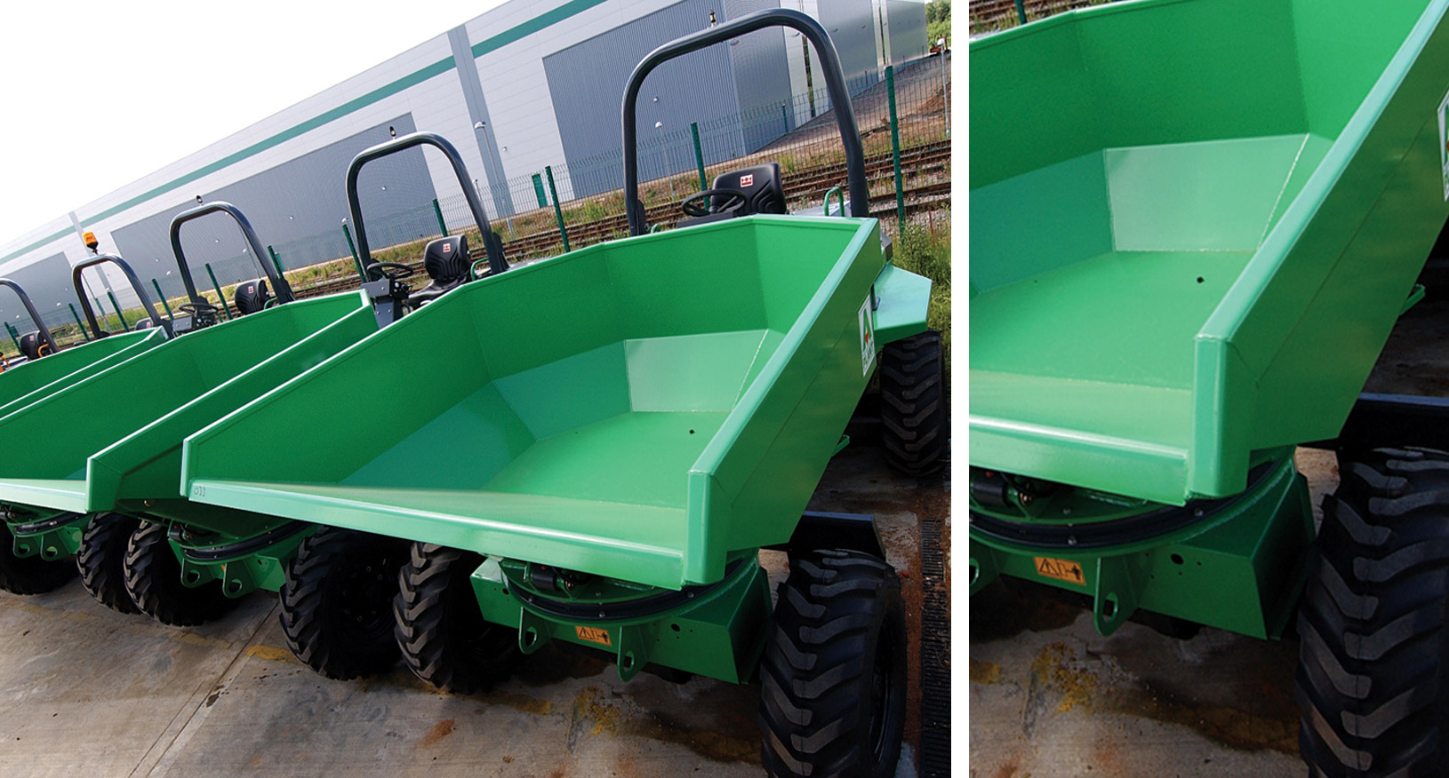 7T Four Wheel Drive Dumper