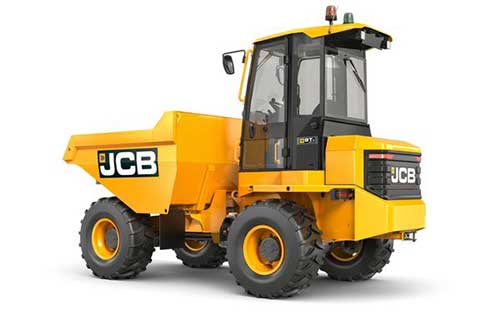 9T Four Wheel Drive Dumper