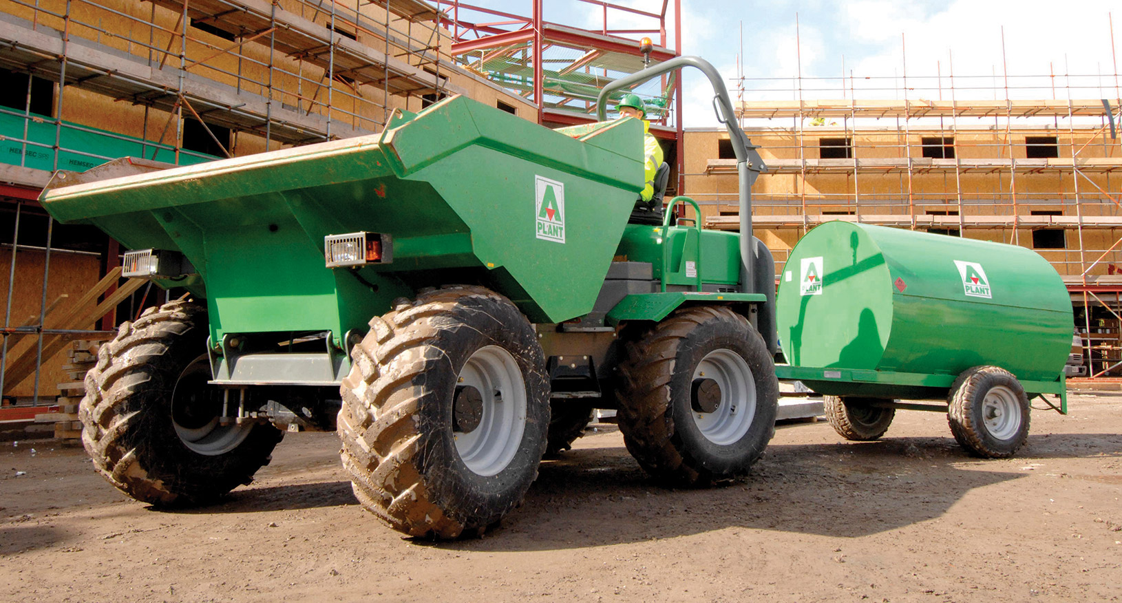 10T Four Wheel Drive Dumper