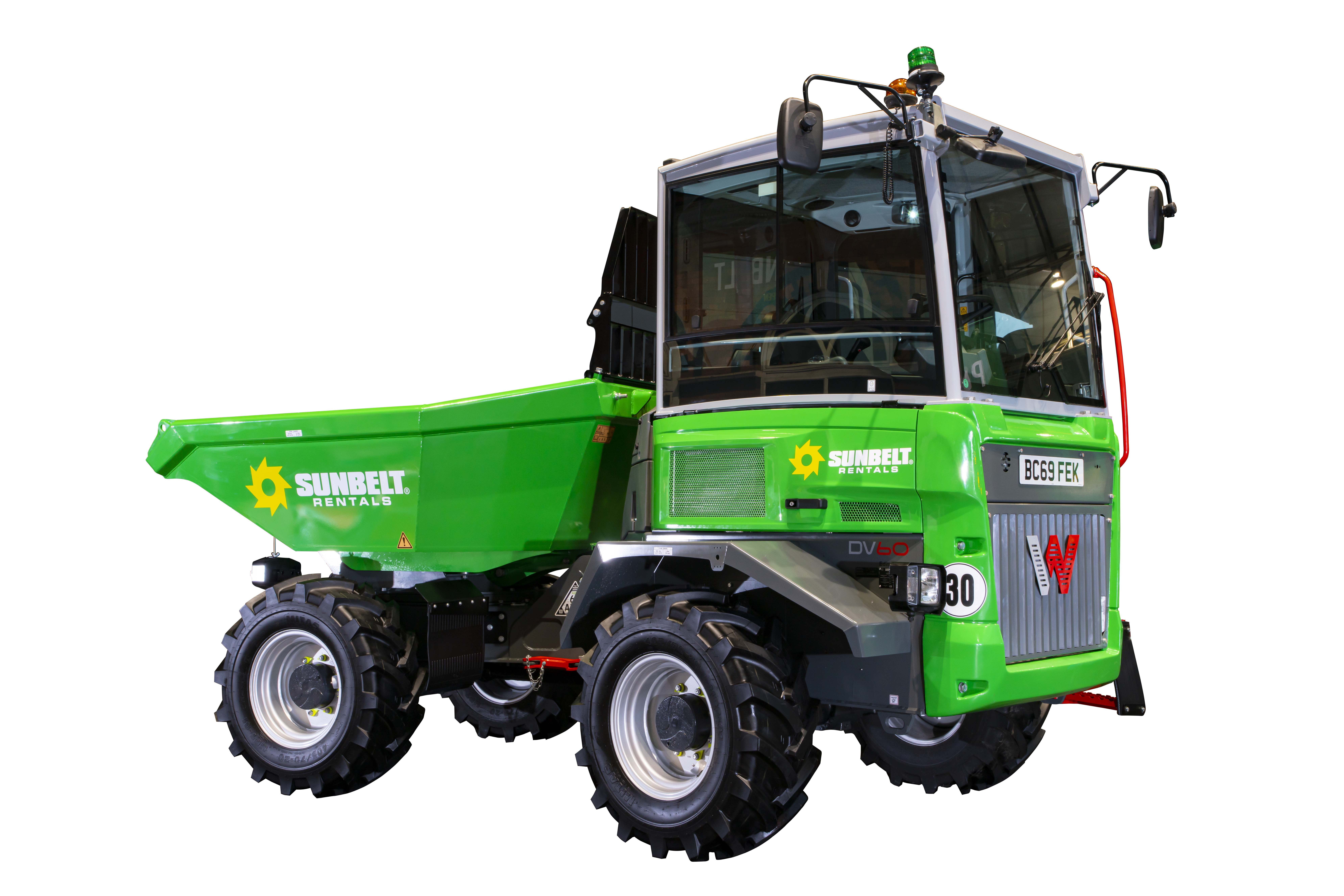 6.0T Dual View Swivel Skip Dumper