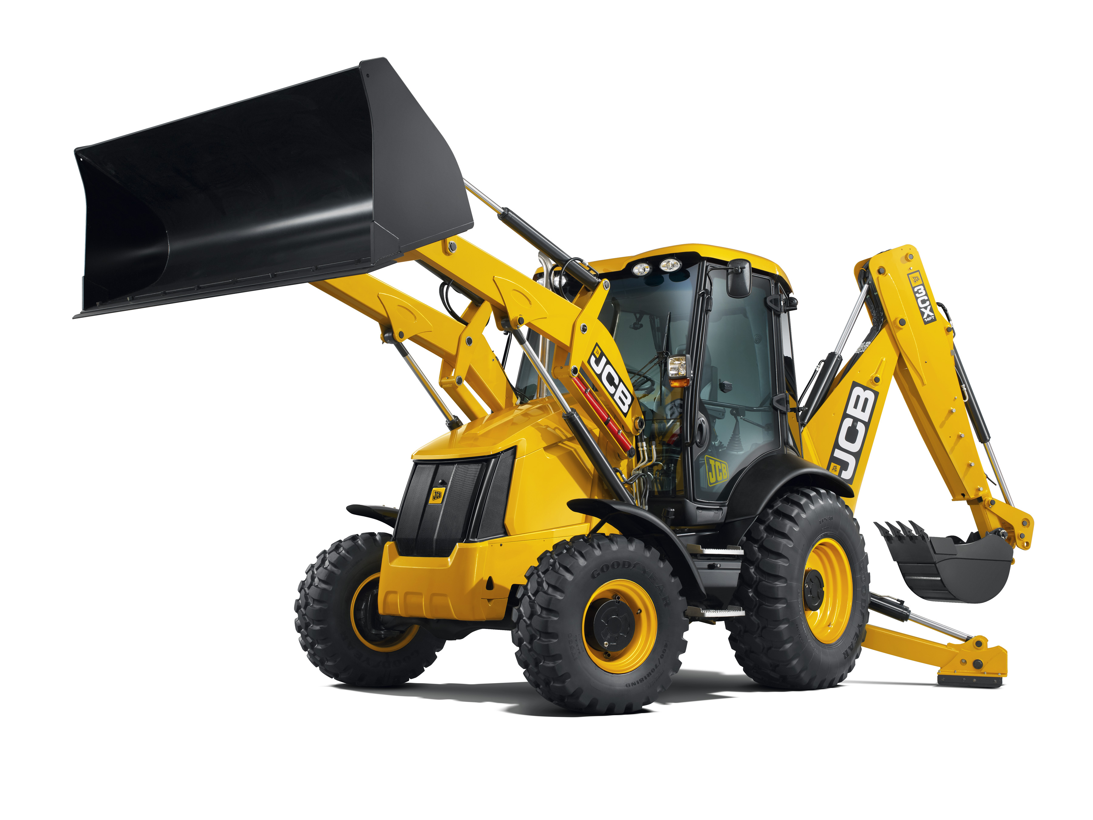 8T Backhoe Loader (3Cx)