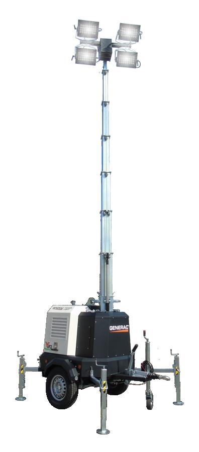 9M V20 LED 4X300W Generac