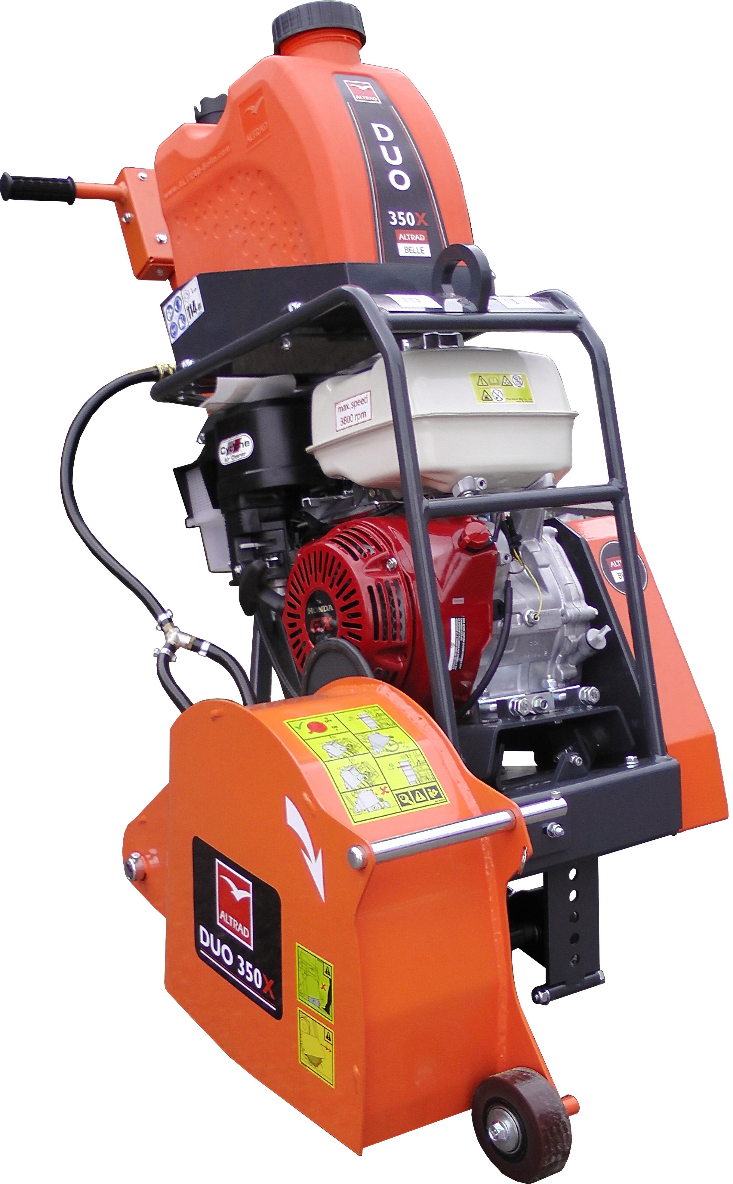 350mm Duo Floor Saw - Petrol