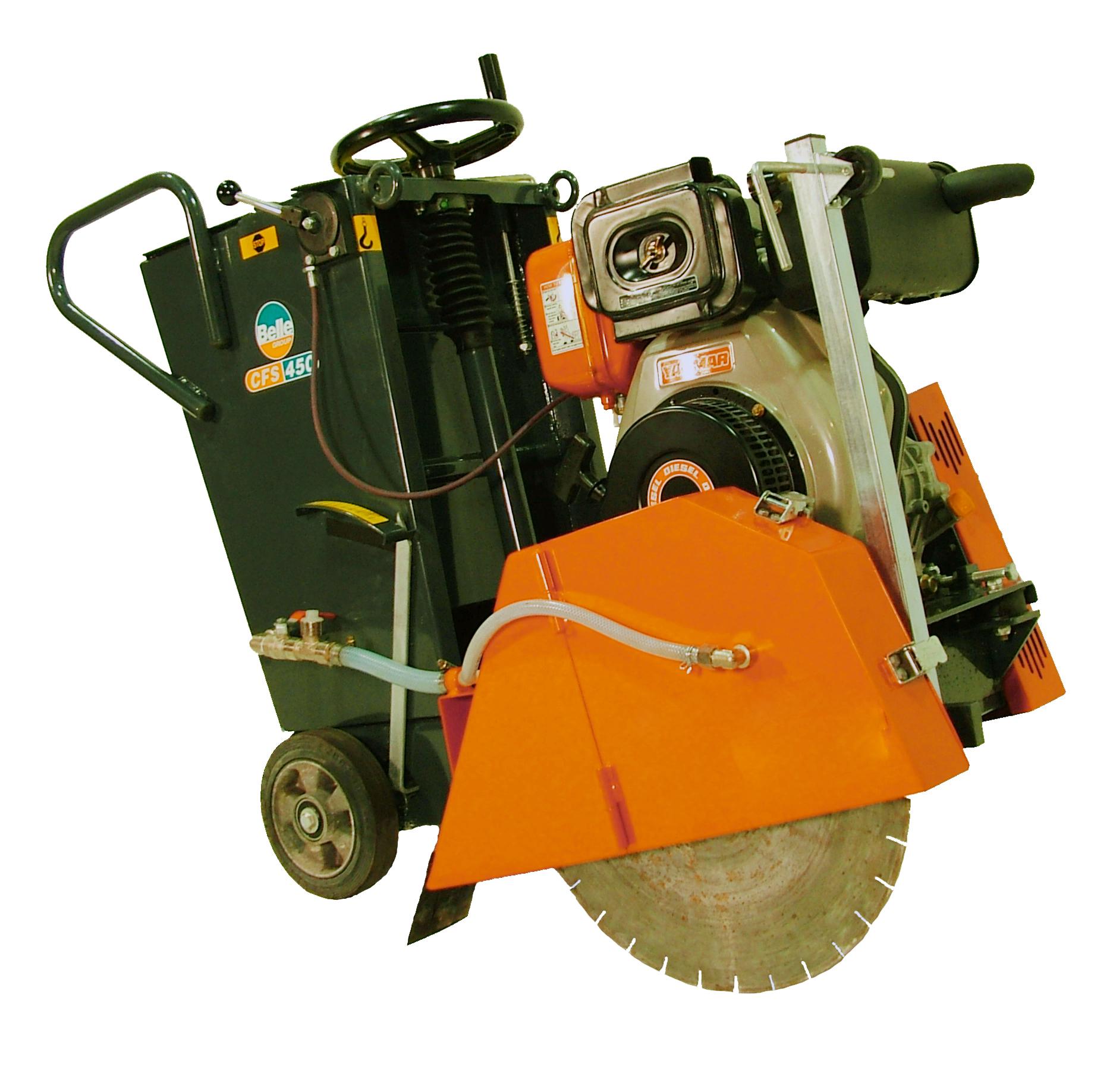 """450mm (18"""") Floor Saw Diesel"""