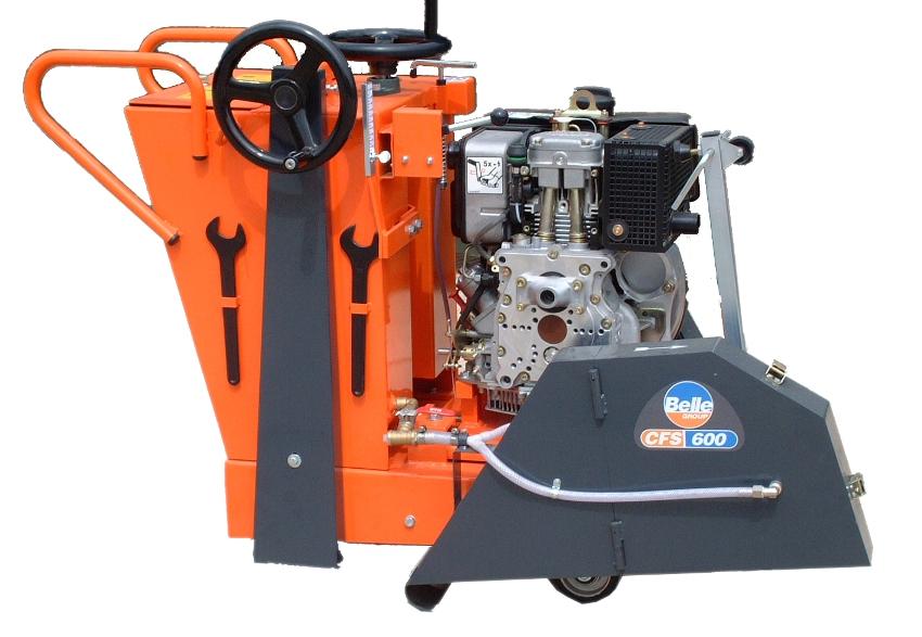 """600MM (24"""") Floor Saw Diesel"""