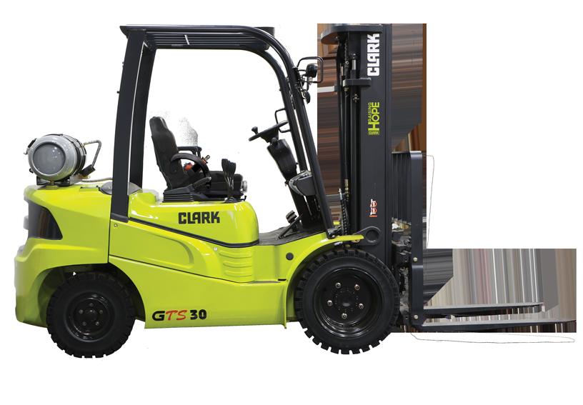2.5T LPG Industrial Forklift