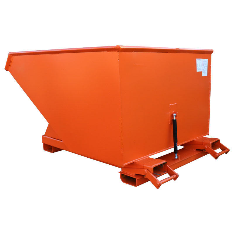 1200L Autolock Tipping Skip - Wheeled