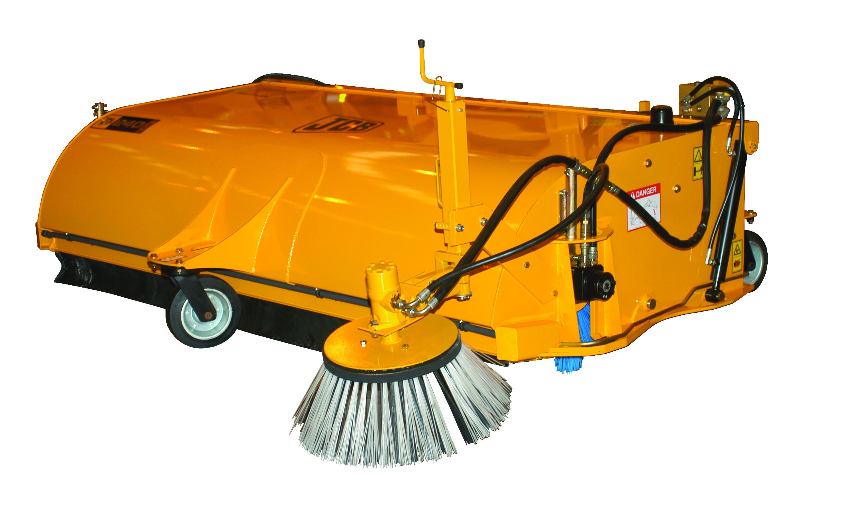 Forklift Brush Attachment