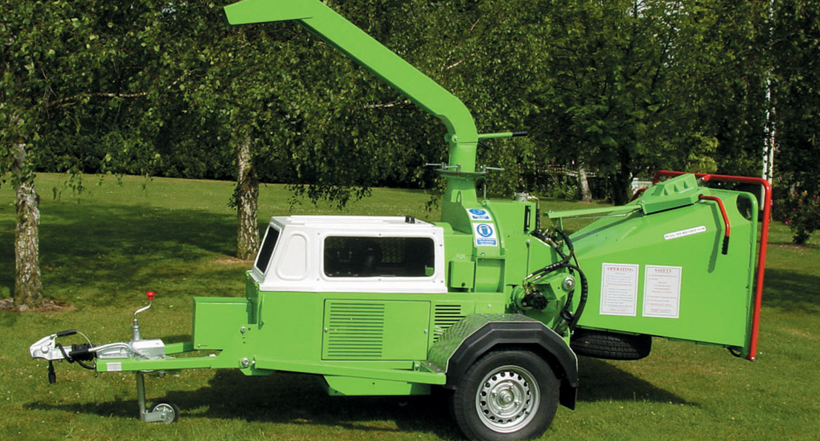"8"" Diesel Towable Chipper"
