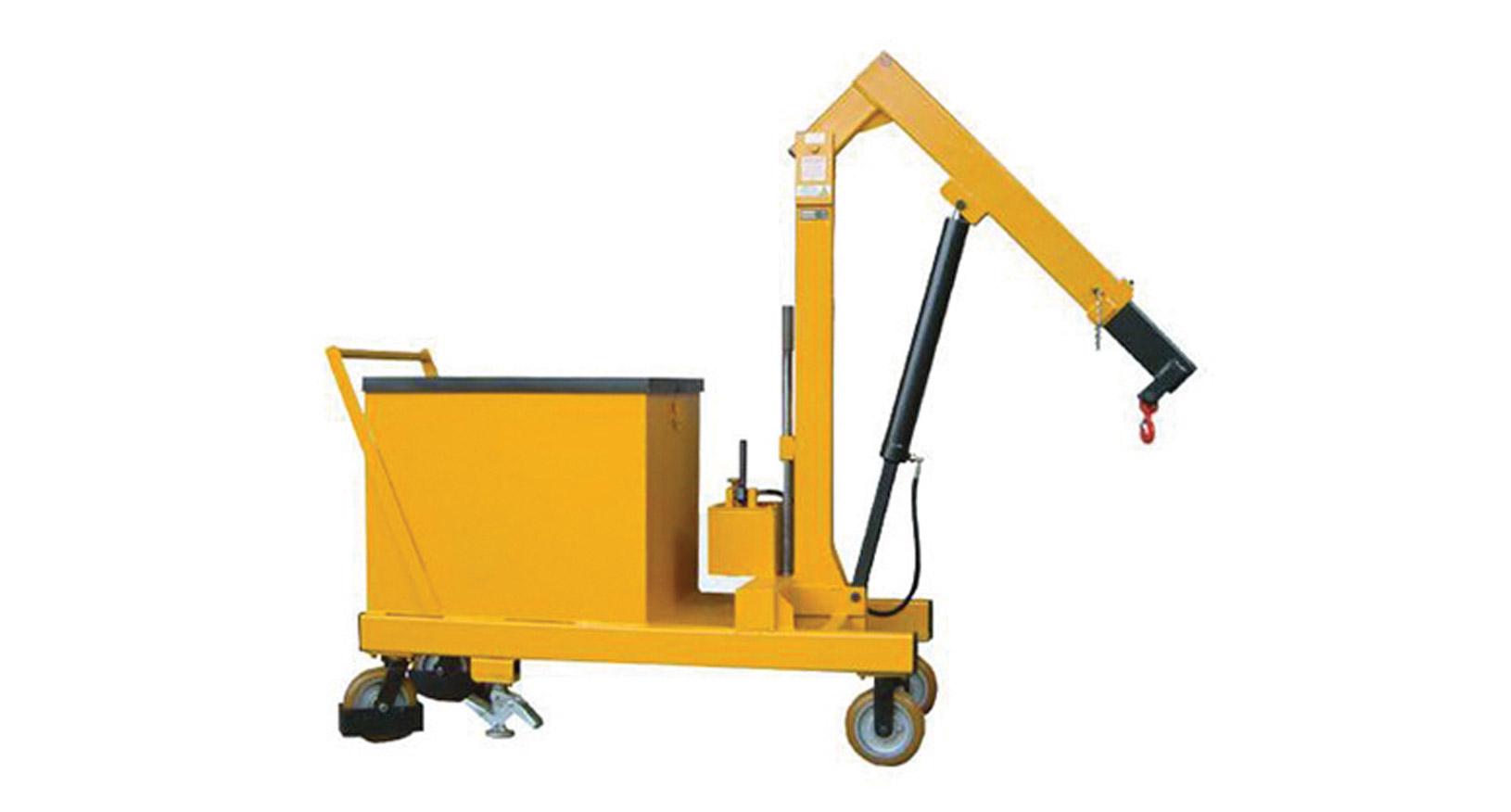 1T Hydraulic Floor Crane