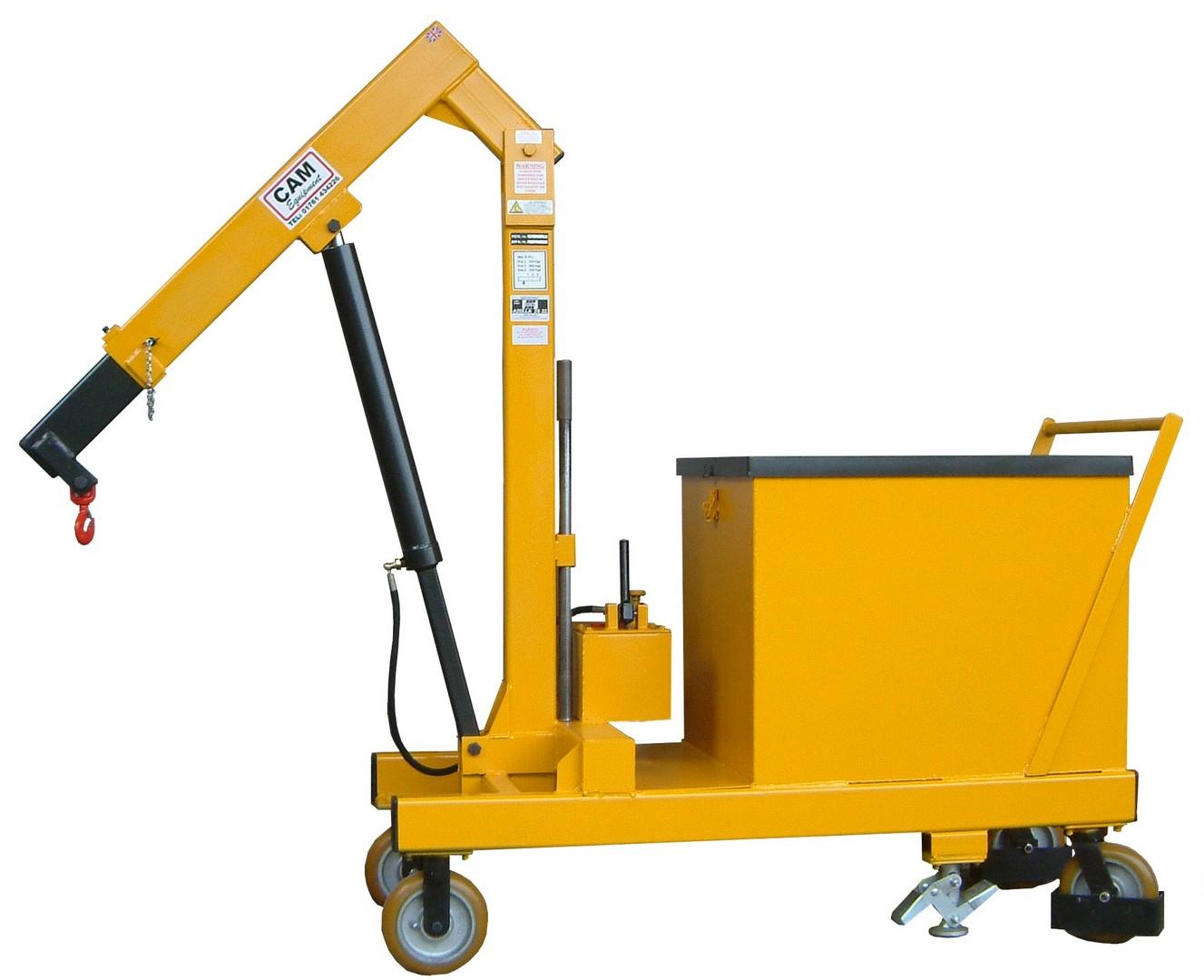 1T Counterbalance Floor Crane
