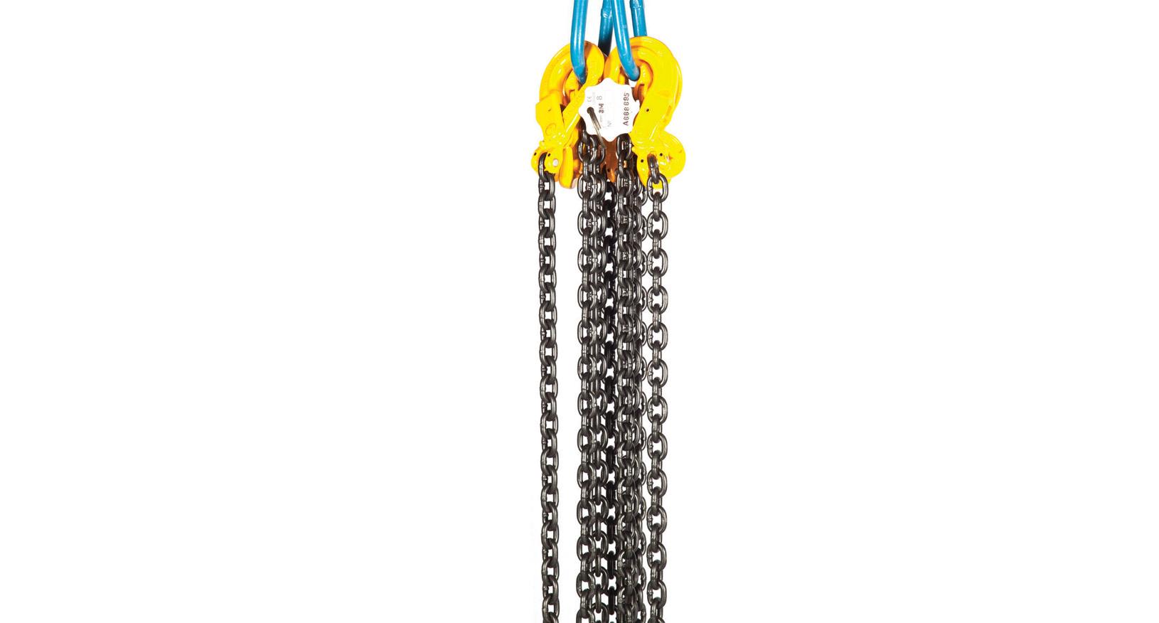 6.7T 10mm 4 Leg Chain 0-3M
