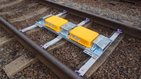 Rail Track Magnet For Automatic Warning System
