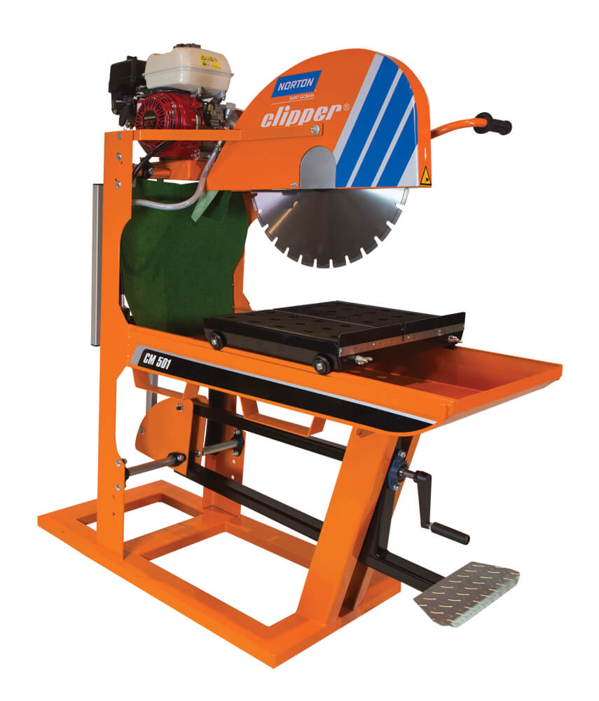 450mm Masonry Saw Bench - Petrol