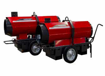 70KW Indirect Oil Fired Heater