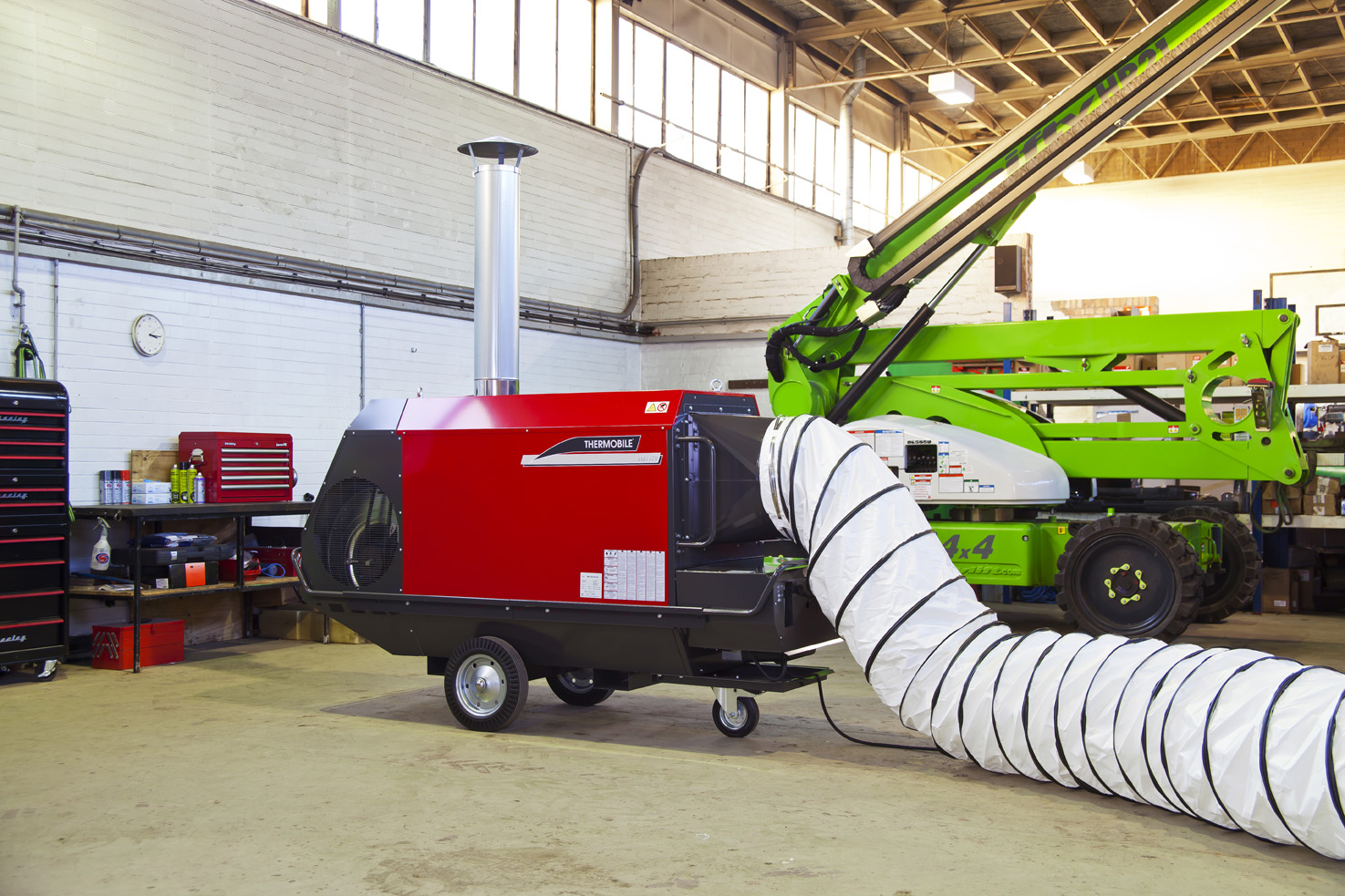 150KW Indirect Oil Fired Heater