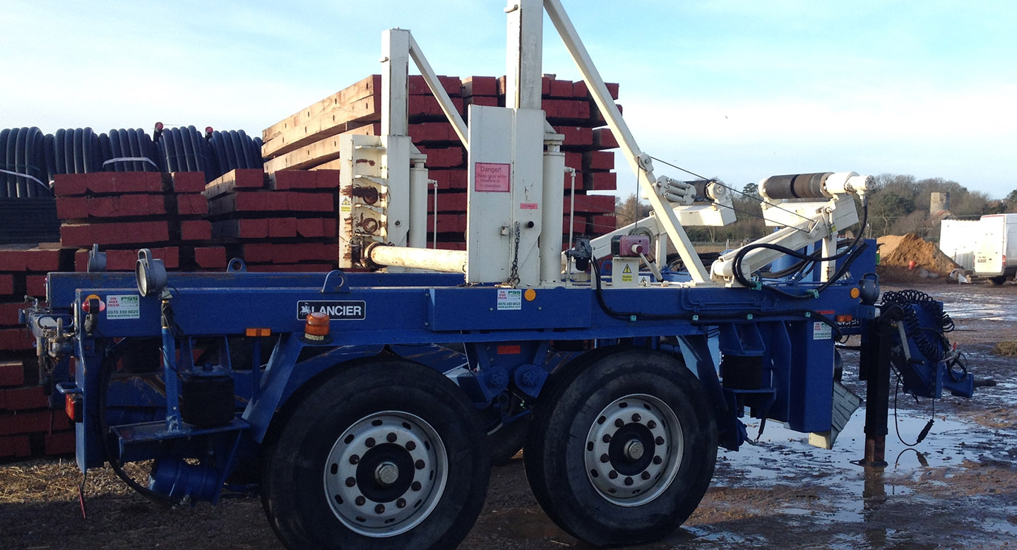 Cable Drum Trailer 15T