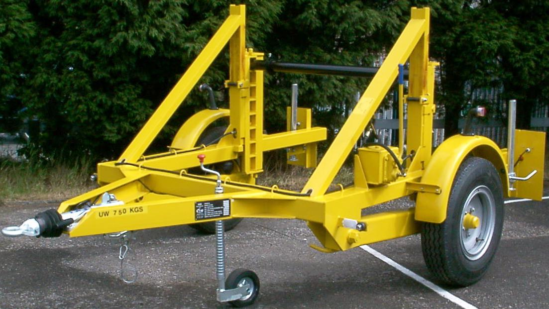 Cable Drum Trailer 3.5T