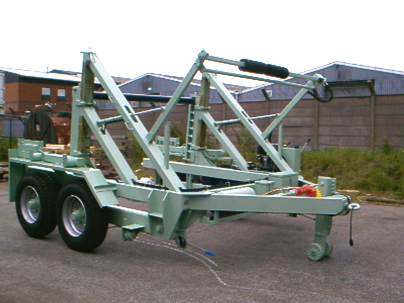 20T Cable Drum Trailer- Fixed Width