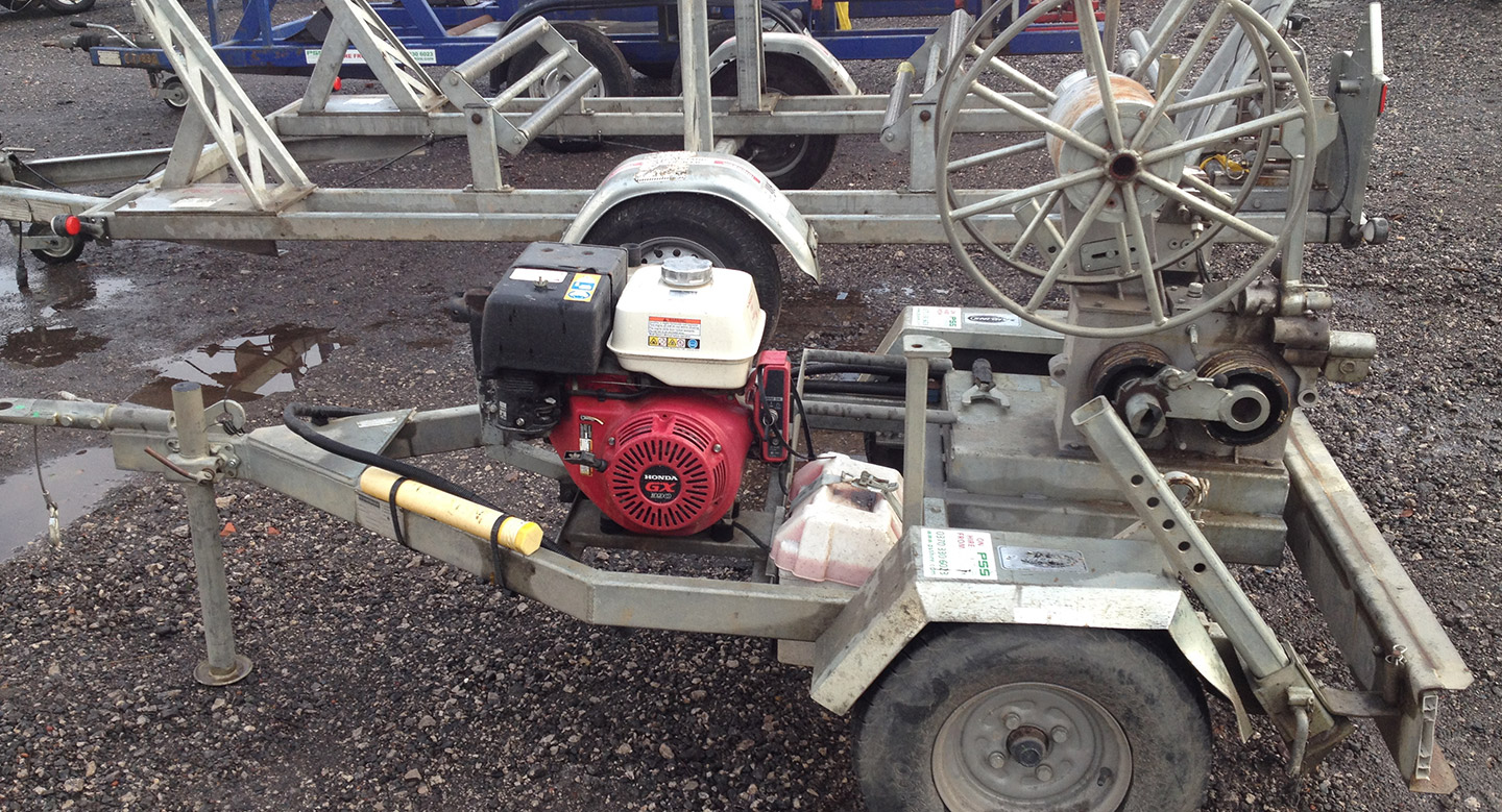 1000kg ABC WOODPOLE WINCH