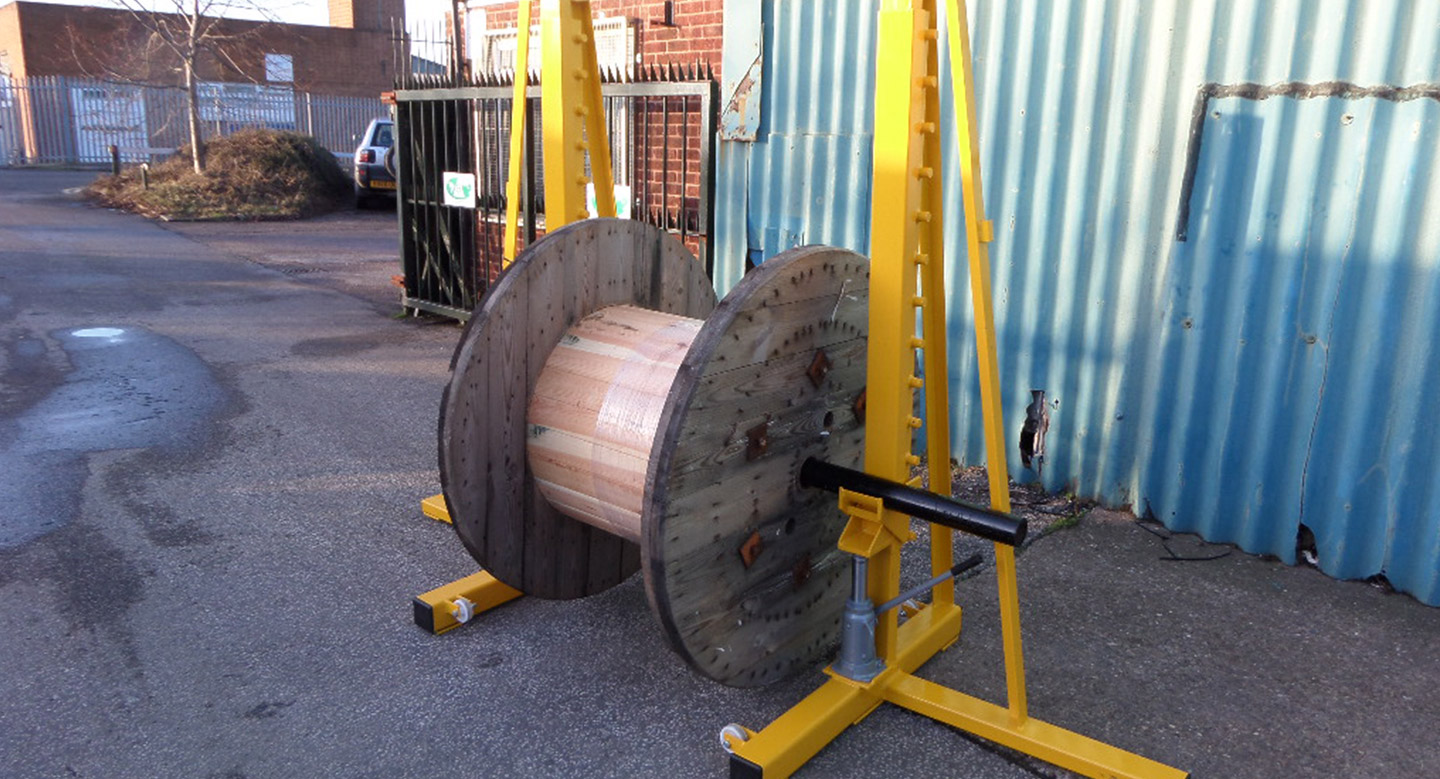 10T Cable Drum Jacks - Hydraulic (Pair)