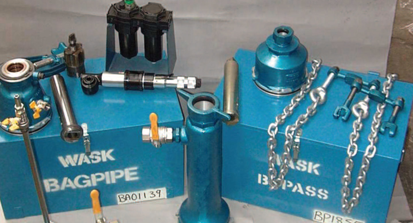Wask  2 Way Bagging Off Kit C/W Bypass & Rider Hose