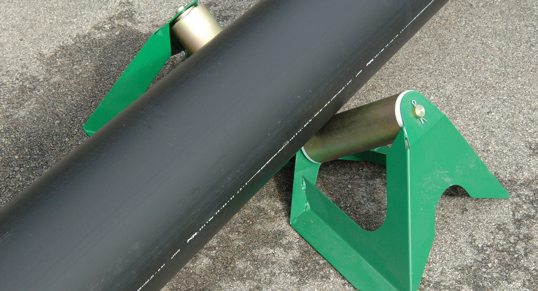 Large Diameter Low Profile Pipe Rollers
