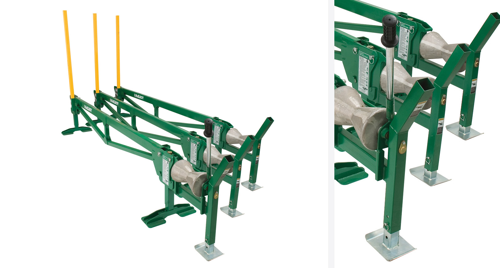 POLY HORSE PIPE LOADER