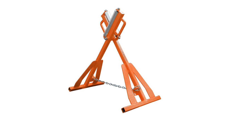 Ritmo Adjustable Pipe Roller 630Mm