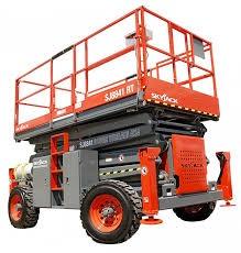SJ8841 RT - 14.32M (46.98Ft) Diesel Scissor Lift