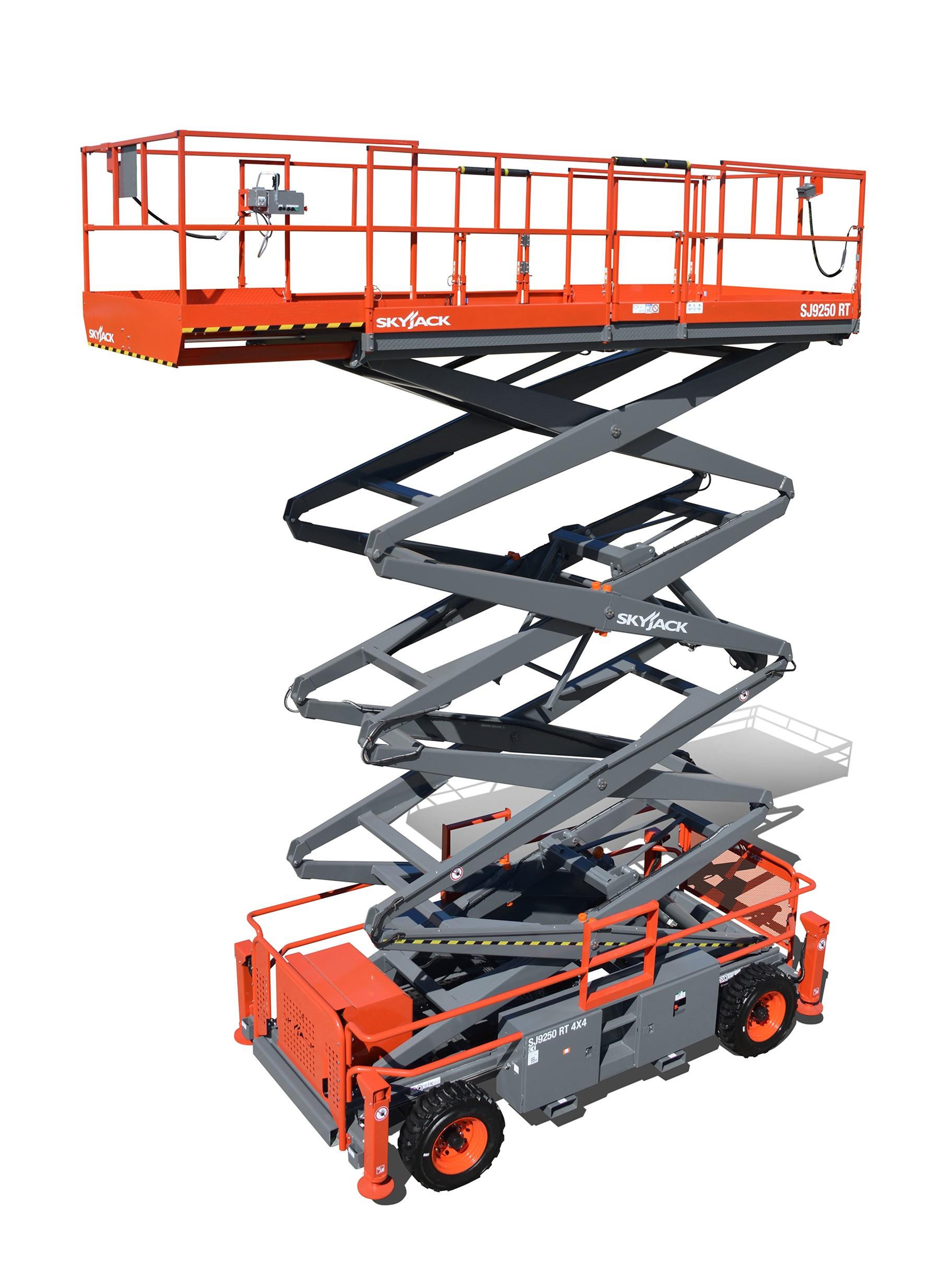 SJ9250 RT - 17.07M (56.00Ft) Diesel Scissor Lift