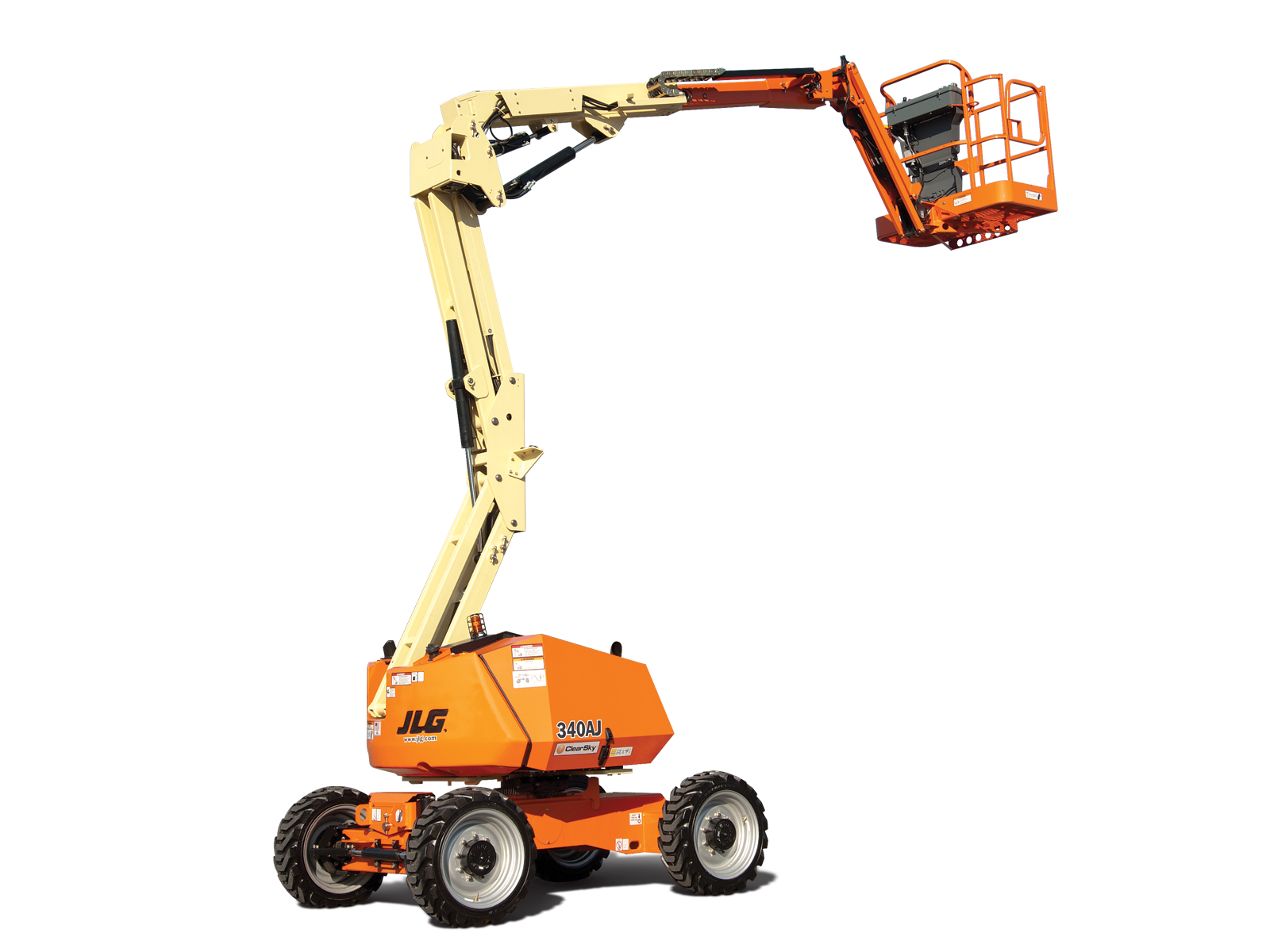 340AJ - 12.33M (40.45Ft) Diesel Articulating Boom Lift