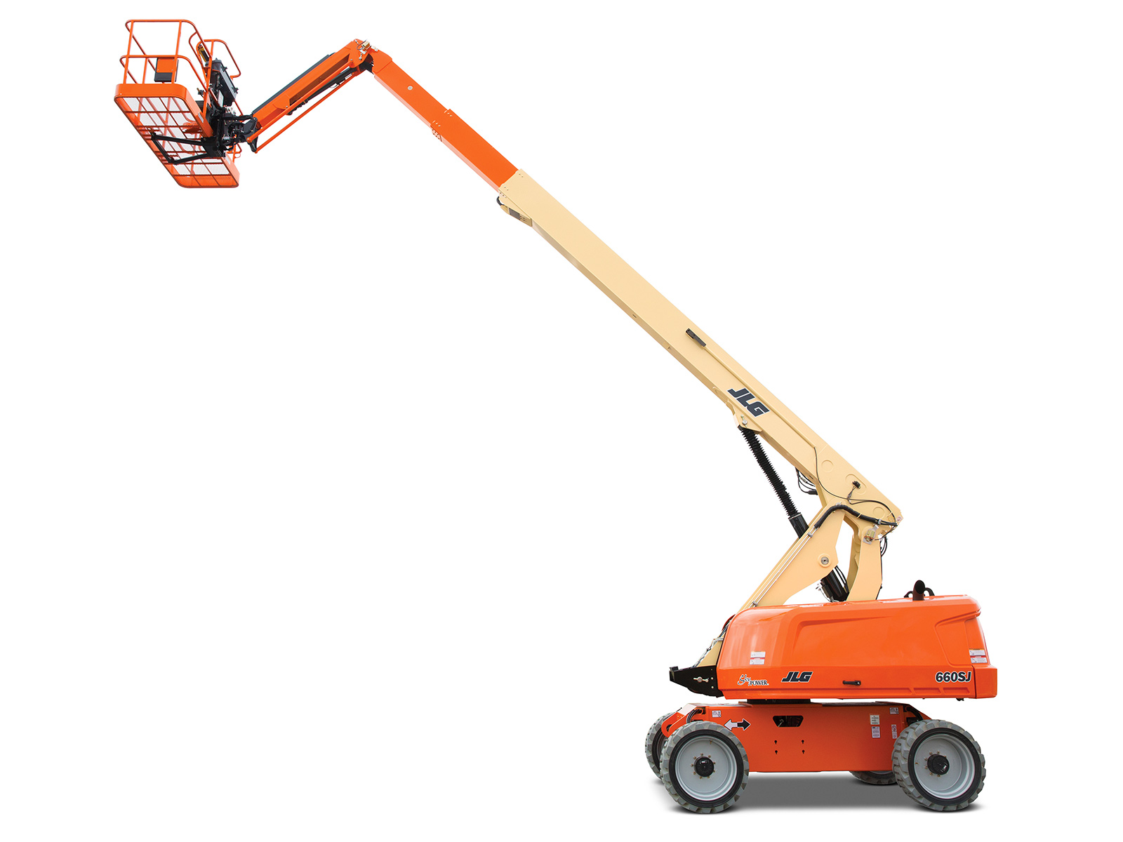 660SJ - 22.02M (72.24Ft) Diesel Telescopic Boom Lift