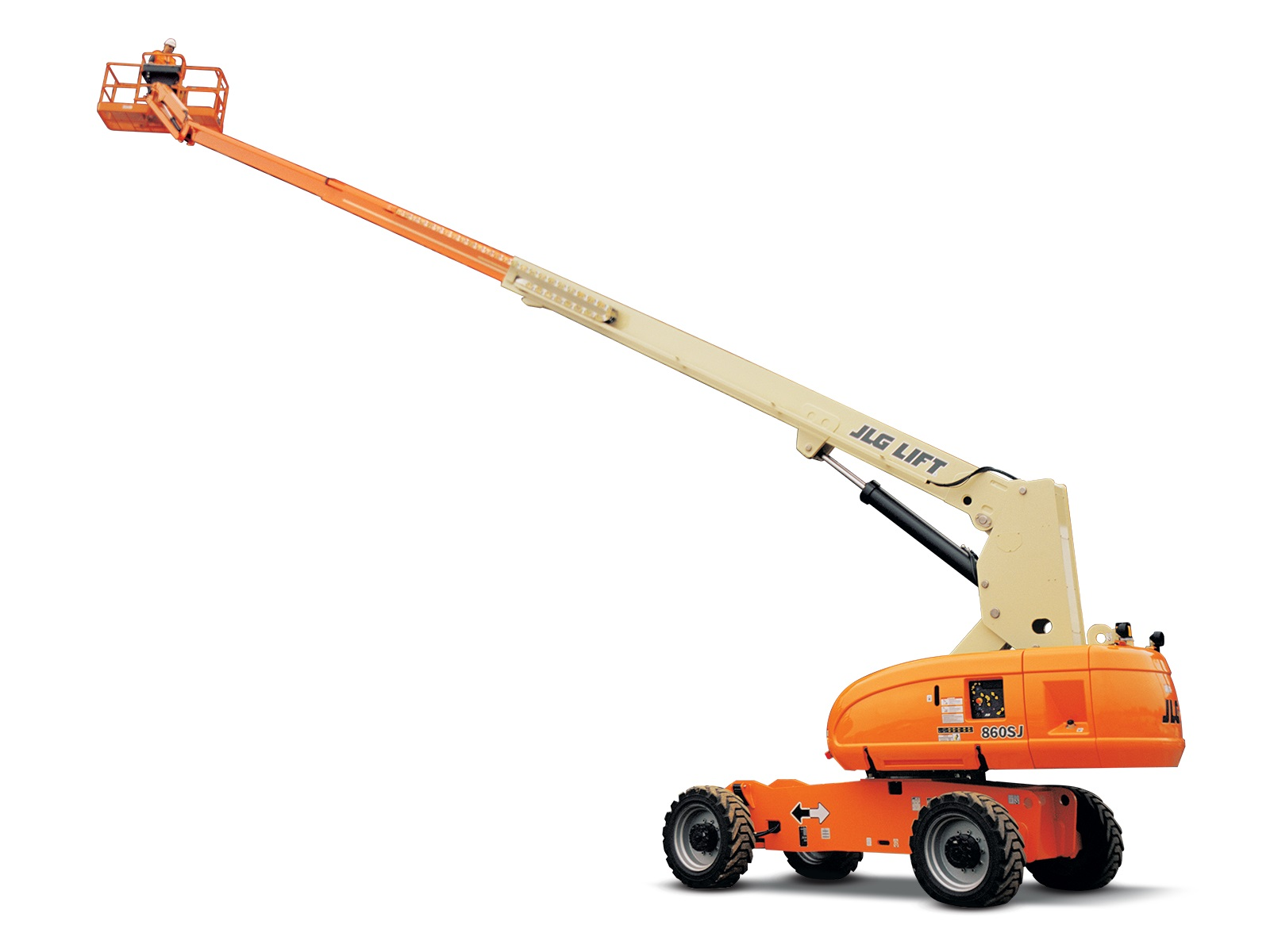 860SJ - 25.51M (18.07Ft) Diesel Telescopic Boom Lift