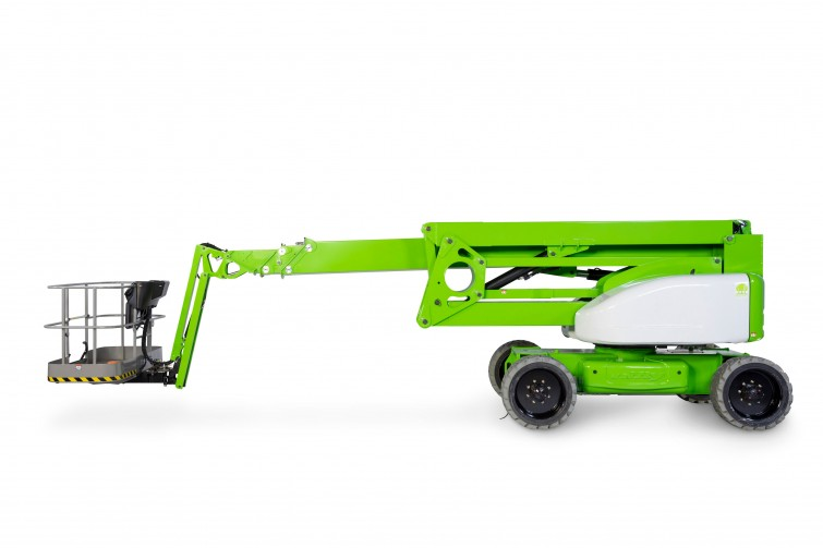 HR28 - 28M (91.86Ft) Self Propelled Hybrid Articulating Boom Lift