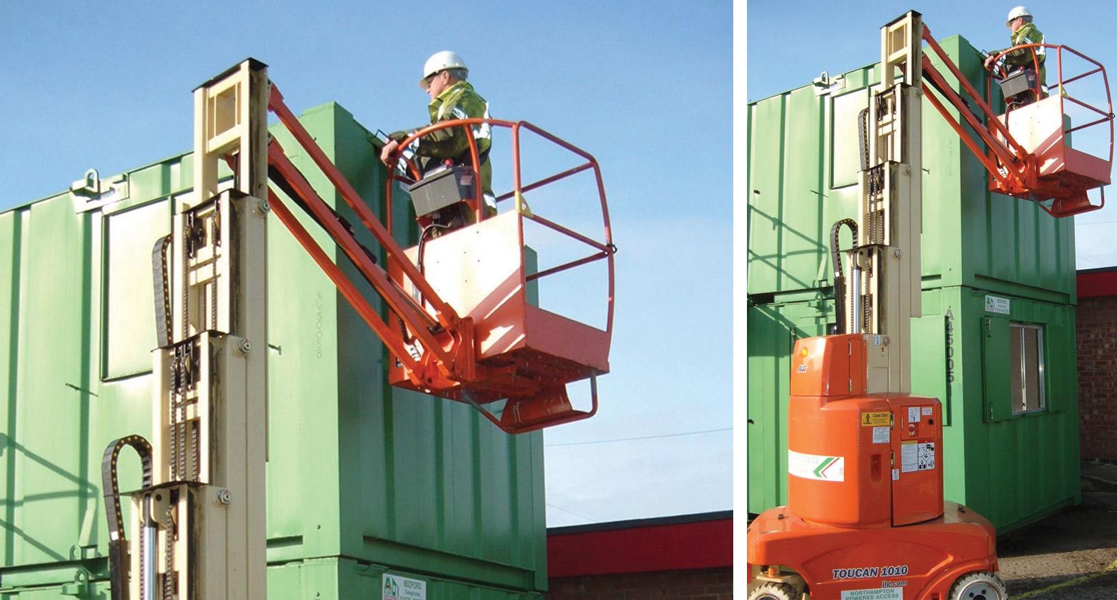 8M (26.24Ft) Electric Mast Lift