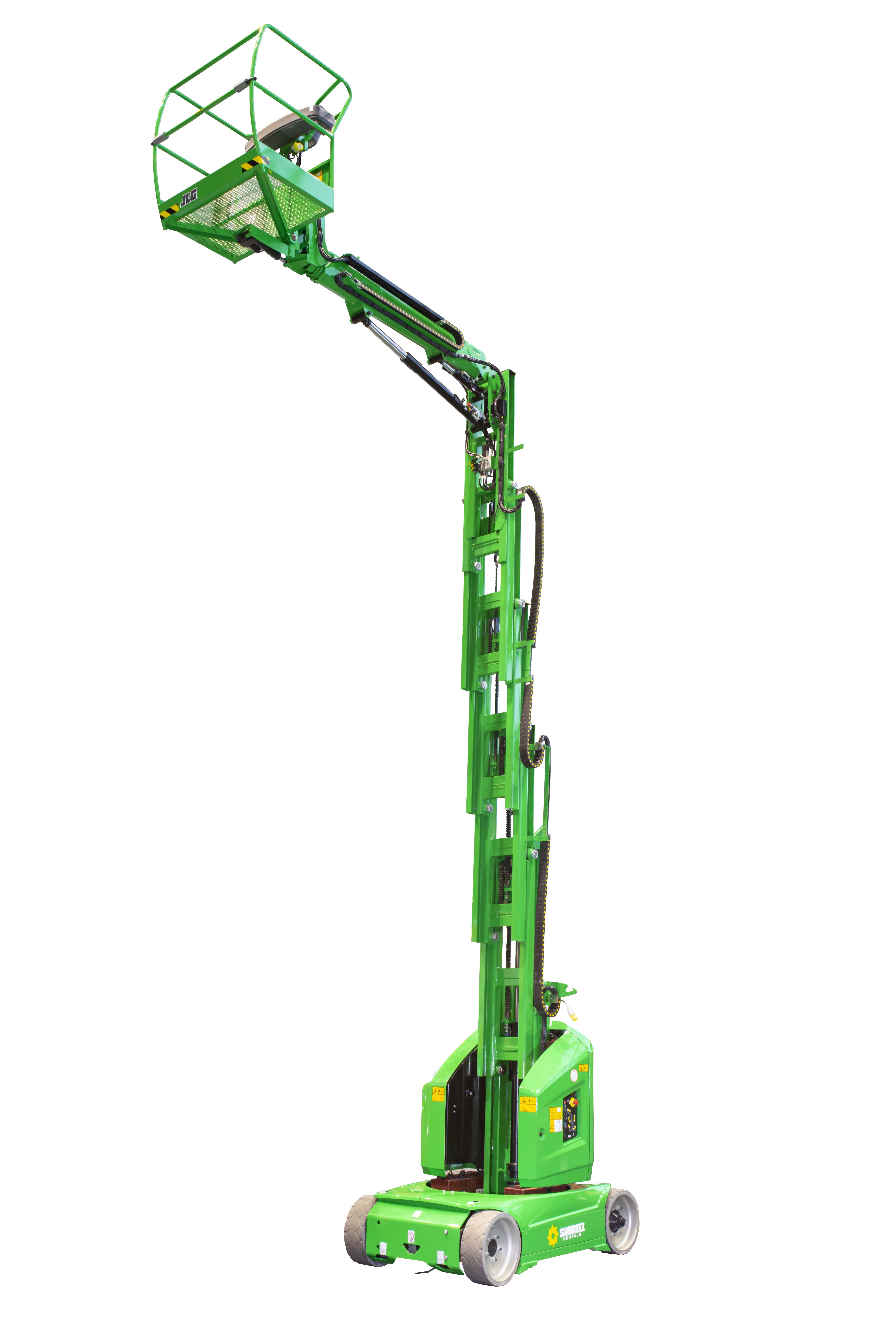 12M (39.37Ft) Electric Mast Lift