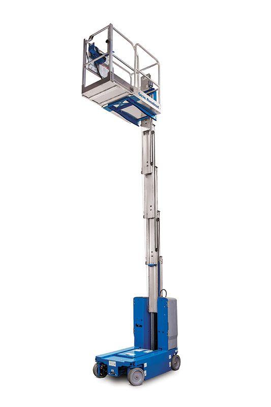 GR-20 - 8.02M (26.31Ft) Electric Mast Lift