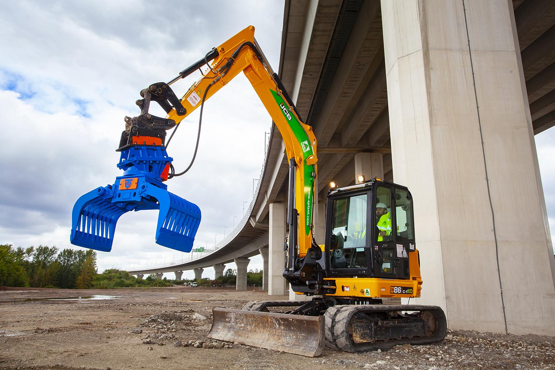 Demolition/Re-handling Grab 5-8 ton