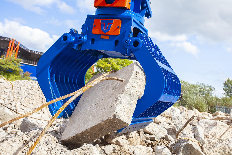 Demolition/Re-handling Grab 13 ton