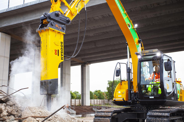 Hydraulic Breaker 35 ton+