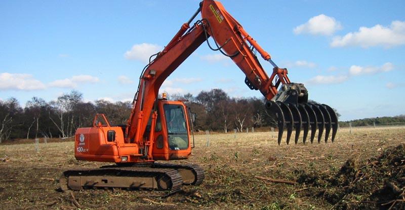 Land Rake 20 ton
