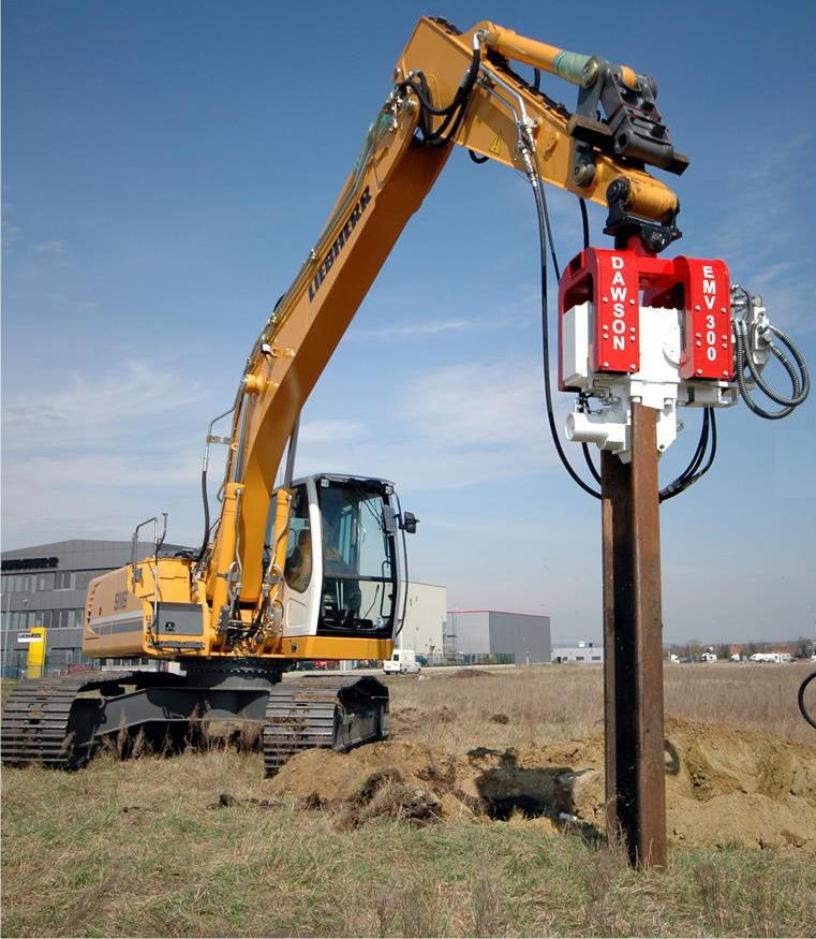 Sheet Pile Hammer 25-45 ton