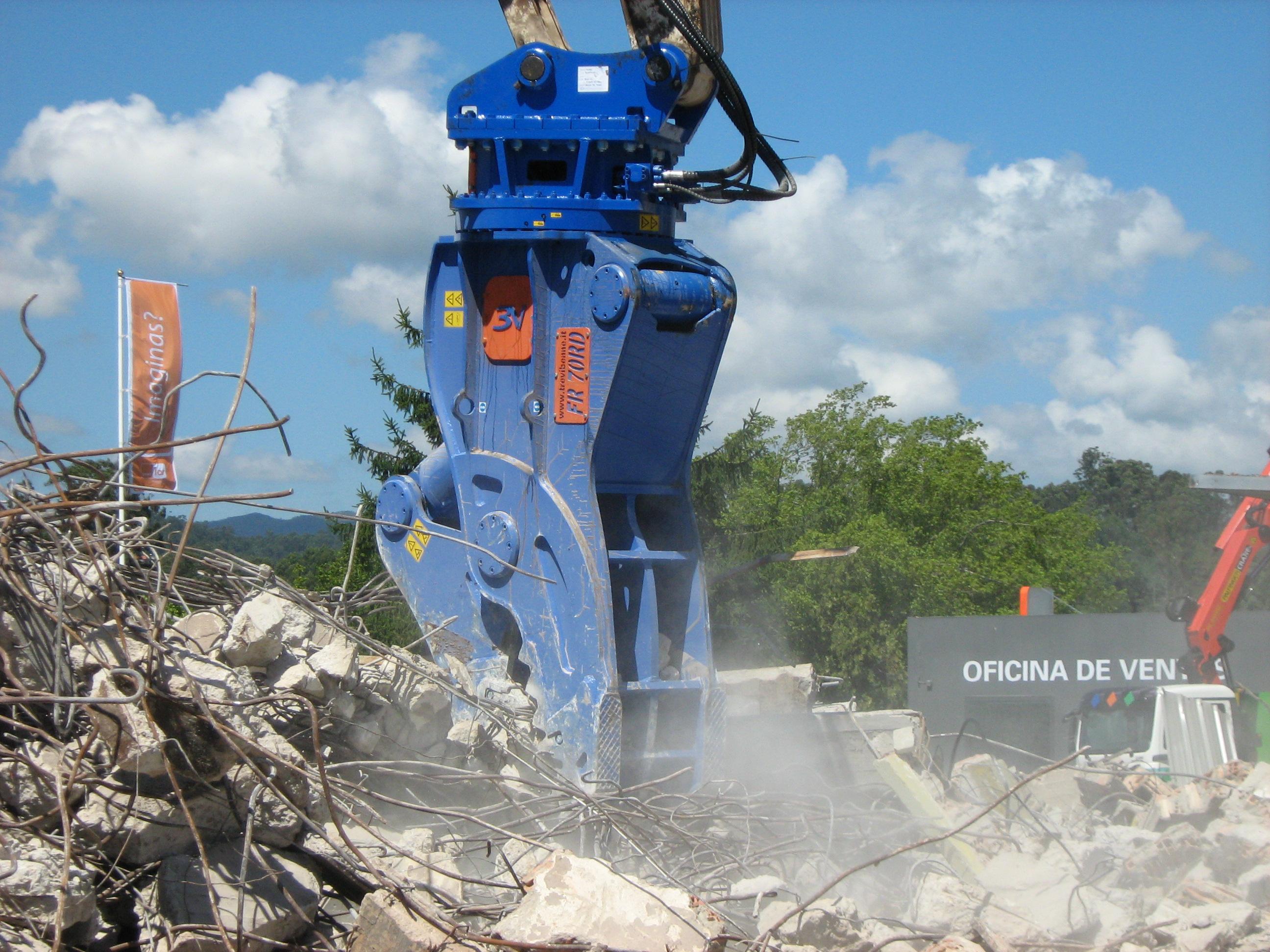 Rotating Pulverizer 13 ton